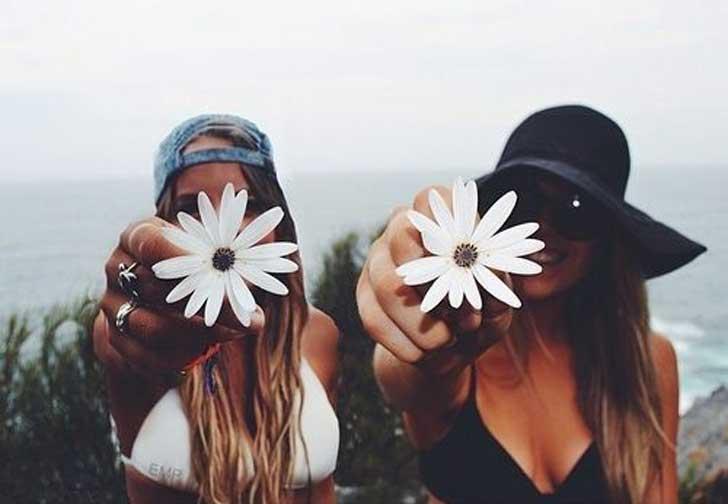 viajar con amigos-flores