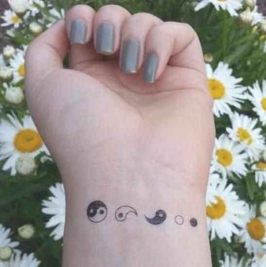 yin yang wrist