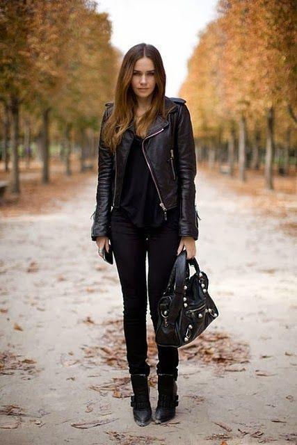 20 maneras pru00e1cticas para usar tu chamarra de piel - Moda