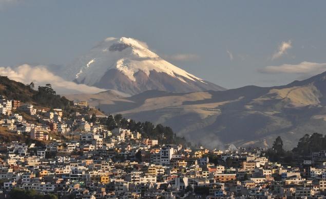Volcán ecuador
