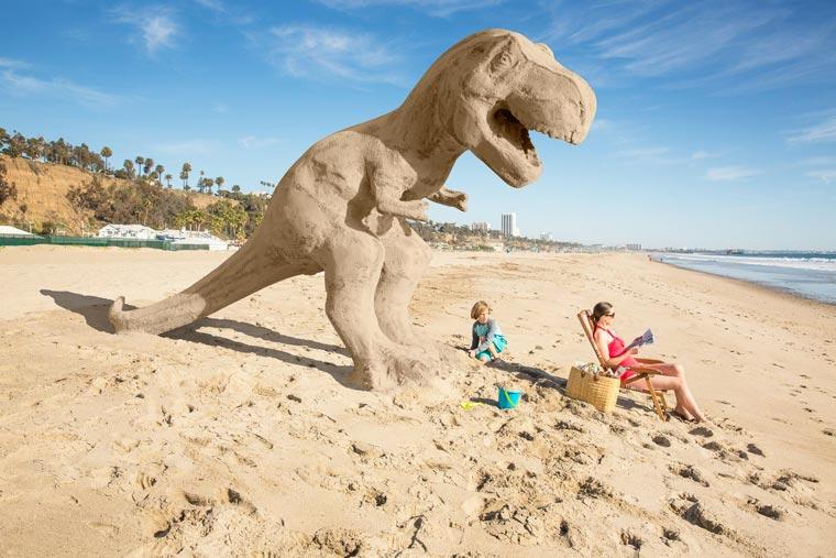 David Zaitz dinosaurio