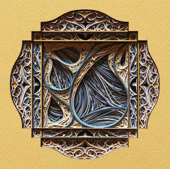 Mandala arte papel