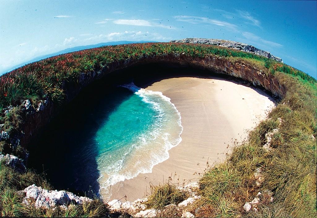 Playas extranas marieta