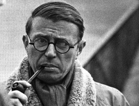 Sartre drogas escritor
