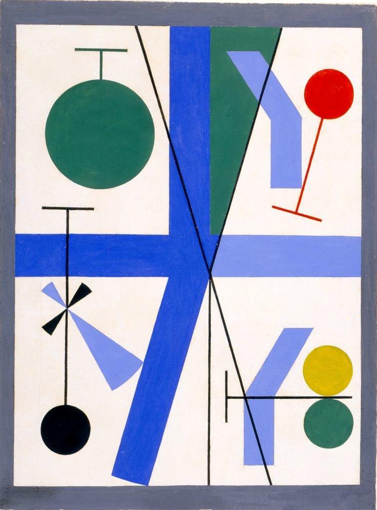 Sophie Taeuber formas y colores