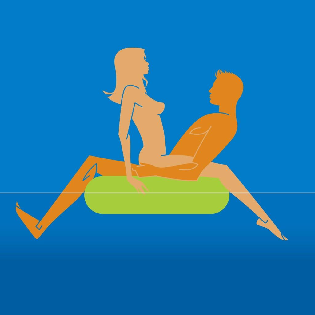 Tawdry Tube sexo en el agua