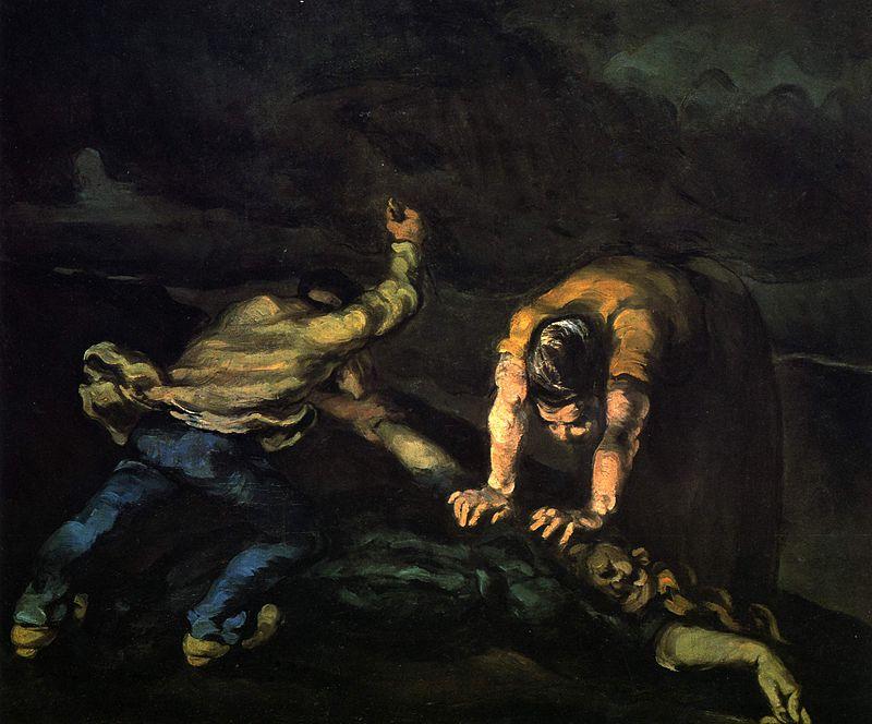 asesinatos brutales el asesinato paul cezanne