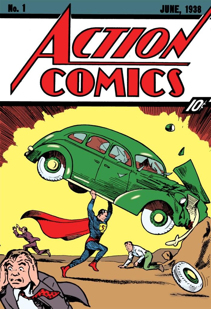 Batman vs Superman - 1938