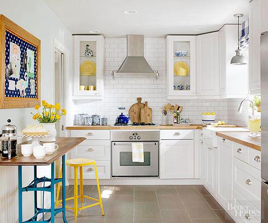 Ideas para aprovechar mejor una cocina peque a dise o - Aprovechar cocinas pequenas ...