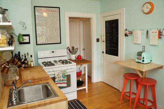 Ideas para aprovechar mejor una cocina peque a dise o for Como aprovechar una cocina pequena
