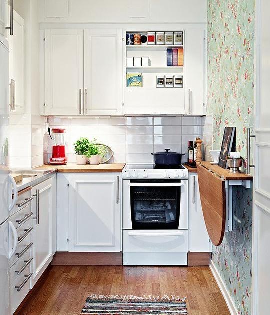 Ideas para aprovechar mejor una cocina pequeña - Diseño - Diseño