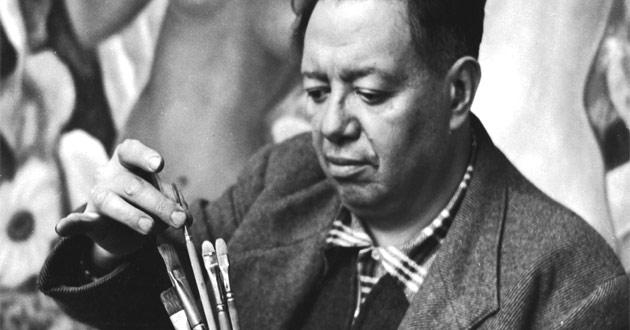 Datos de Diego Rivera