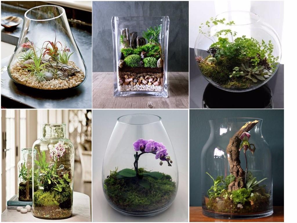 13 hermosos objetos f ciles de hacer para decorar tu casa - Decoracion para terrarios ...