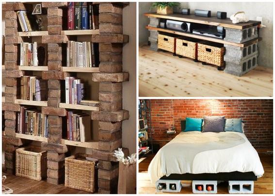 16 ideas para decorar tu hogar con ladrillos y que luzca for Ideas para decorar tu hogar