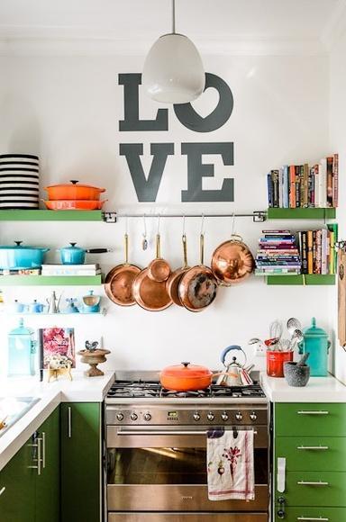 Ideas para aprovechar mejor una cocina pequeña - Diseño