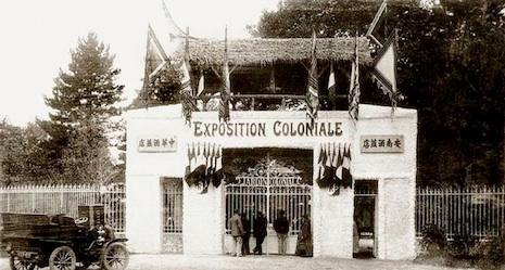exposicion colonial zoologicos humanos