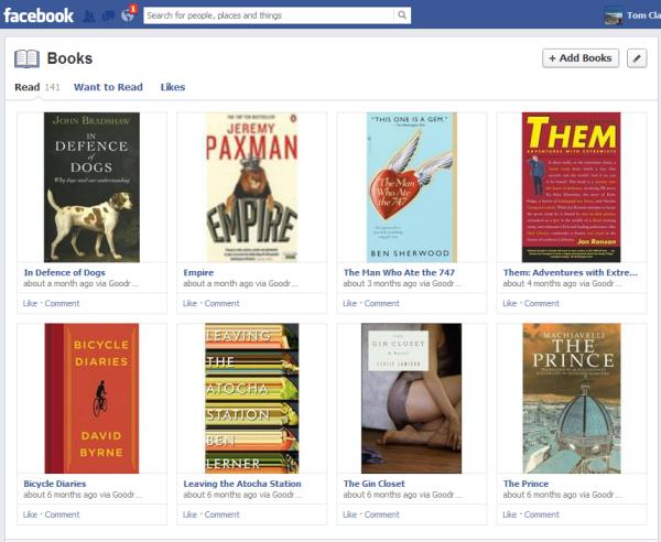 facebook books