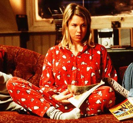 frases de bridget jones pijama