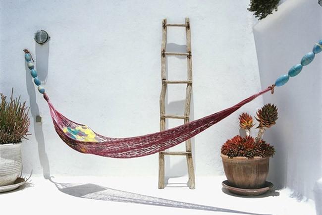 Ideas para decorar la azotea de tus sue os dise o dise o - Ganchos para hamacas ...