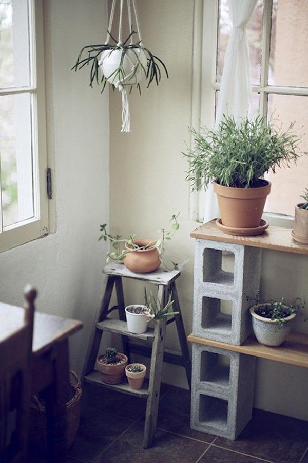 16 ideas para decorar tu hogar con ladrillos y que luzca for Decoracion jardin ladrillos
