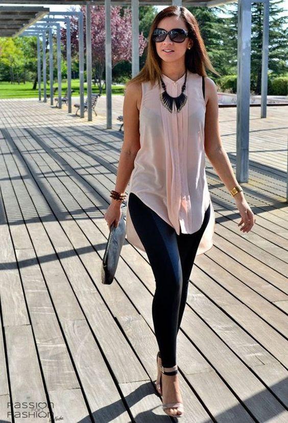 leggings blusa look perfect