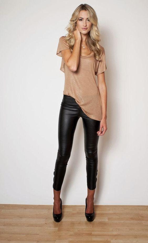 leggings blusa look perfecto