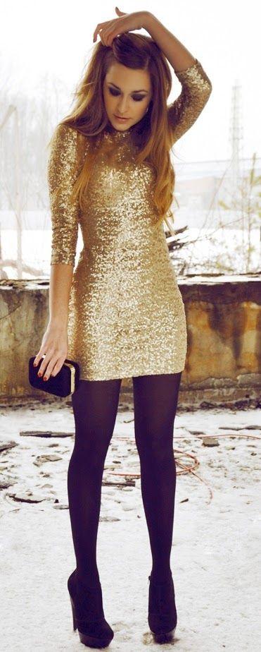 medias con vestido look perfecto