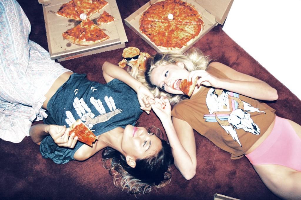mejores amigas pizza
