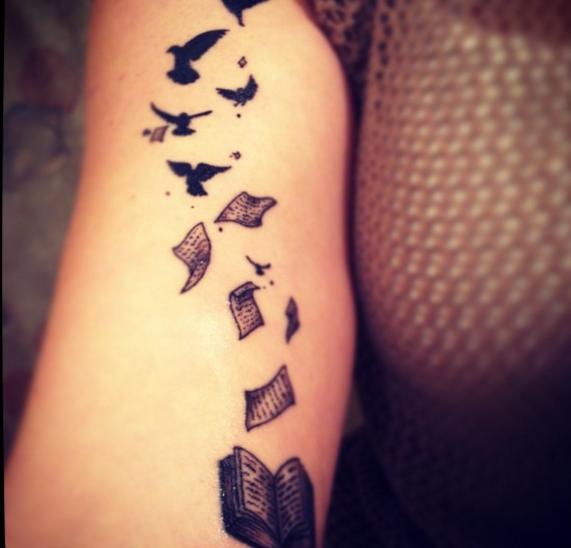 Tatuajes Que Sólo A Los Escritores Se Les Verán Bien Diseño Diseño
