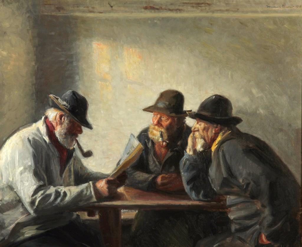 Michael Ancher - Artistas deprimidos