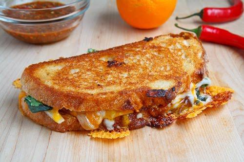 recetas de comida grilled cheese