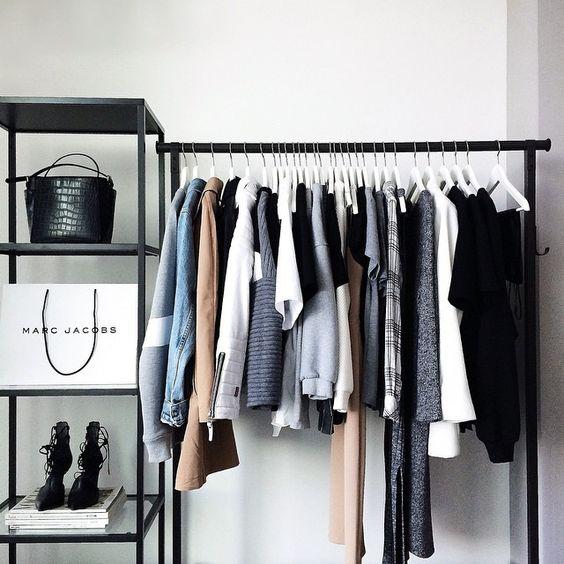 ropa organizar closet