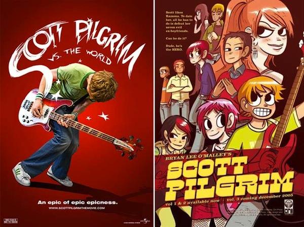 scott pilgrim vs the world comic