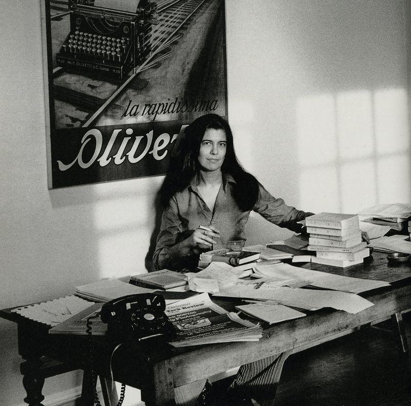 Susan Sontag escritora drogas