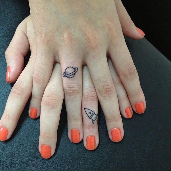 Tatuajes Minimalistas Que Todas Las Parejas Querran Tener Diseno