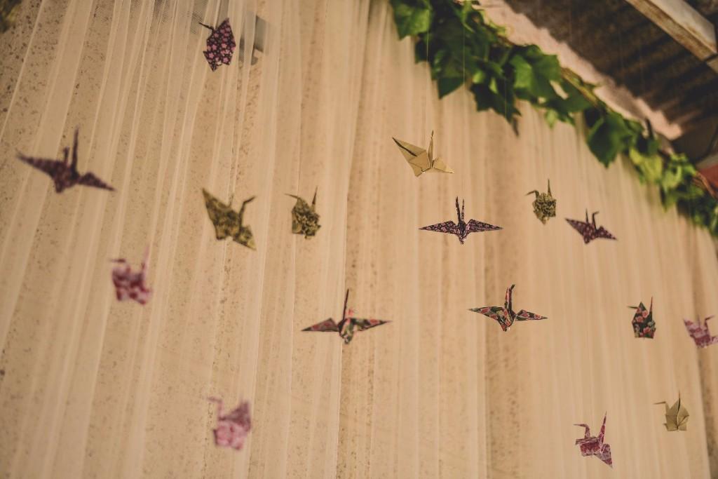 techo de origami
