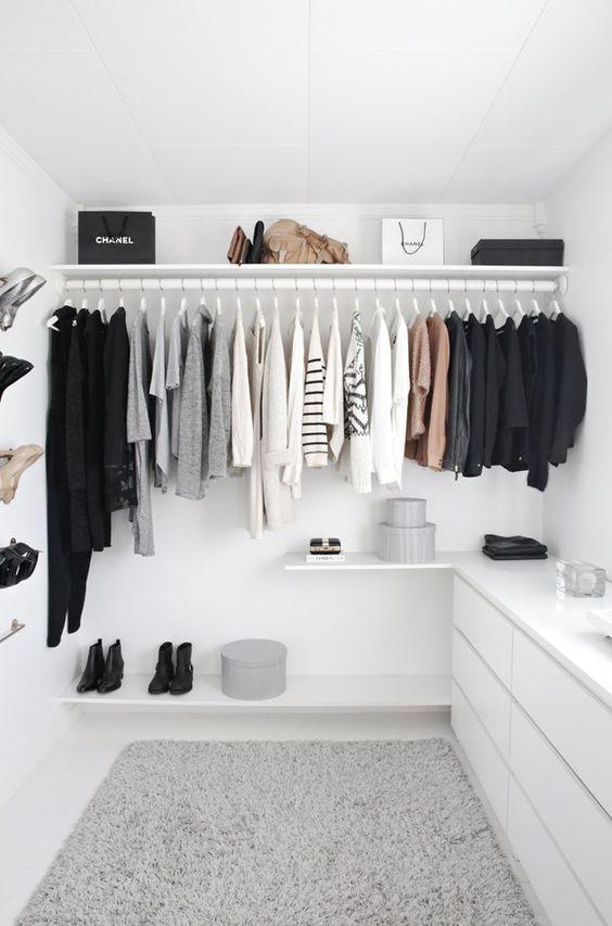 vestidos organizar closet