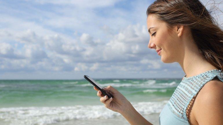 viajar sola-celular