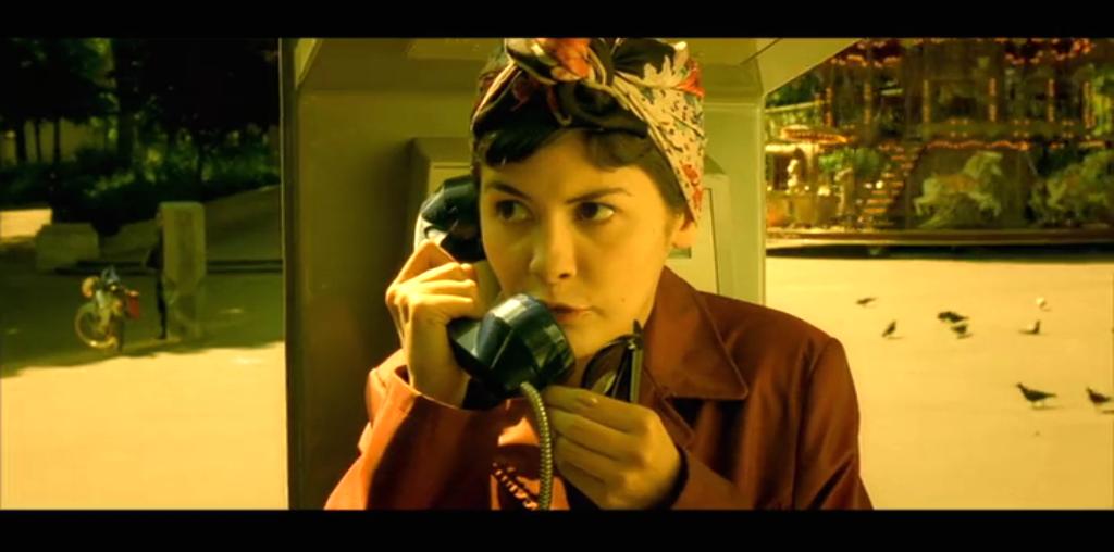 Amelie cabina de telefono original