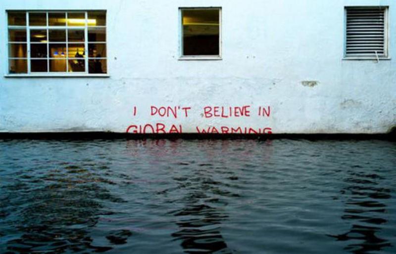 Cambio climatico no existe destcada