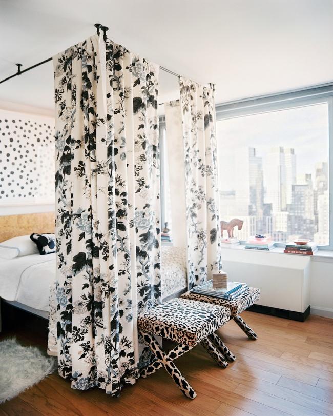 30 sencillos consejos para hacer de tu hogar tu lugar - Cortinas para cama ...