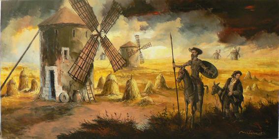 amor platónico / Don Quijote