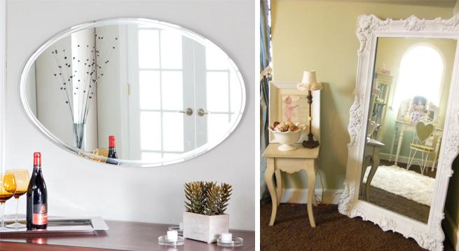 30 sencillos consejos para hacer de tu hogar tu lugar for Espejo pared habitacion