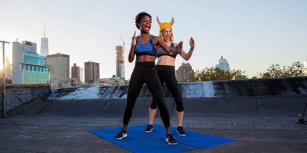 Hacer ejercicio Nike 13