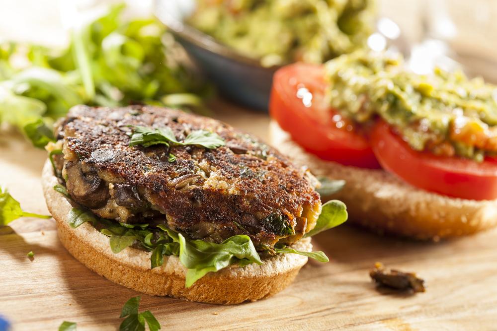 hamburguesa frijol  hamburguesas veganas