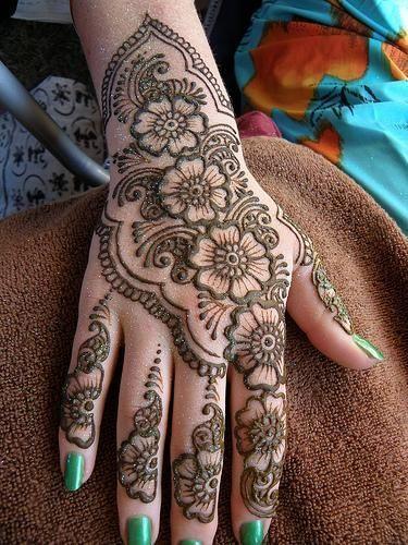 Henna flor
