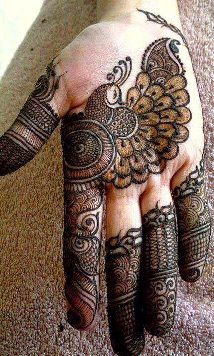Henna pavoreal