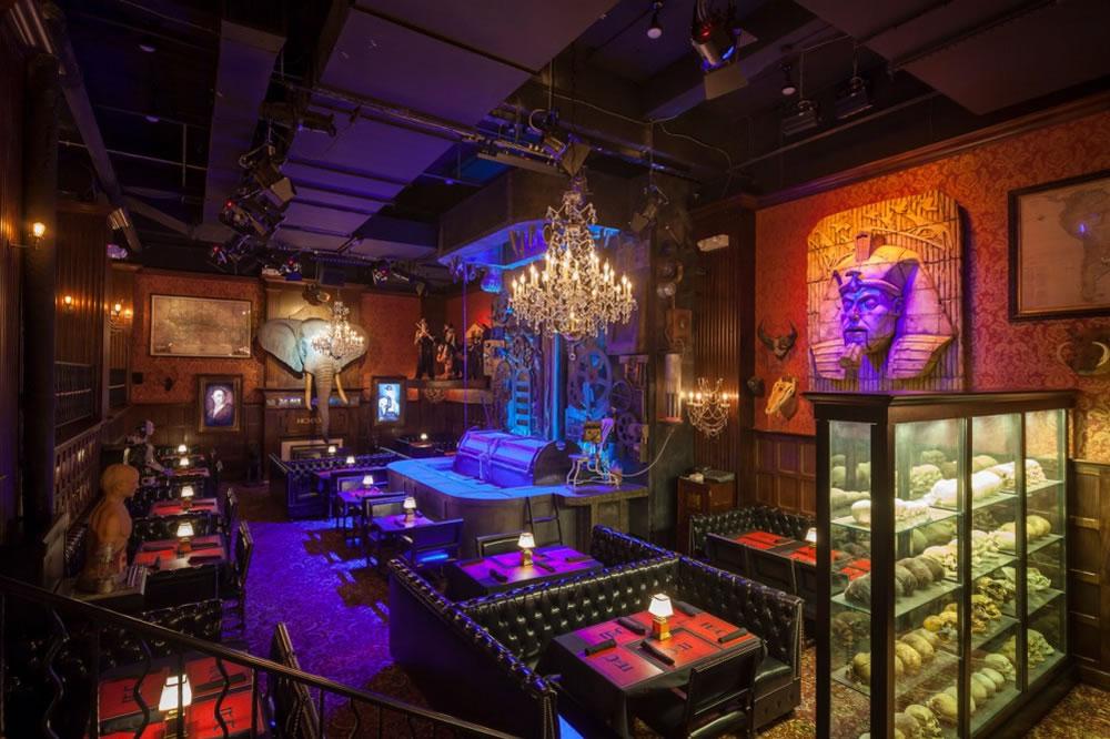 bares de terror Jekyll & Hyde Club new year