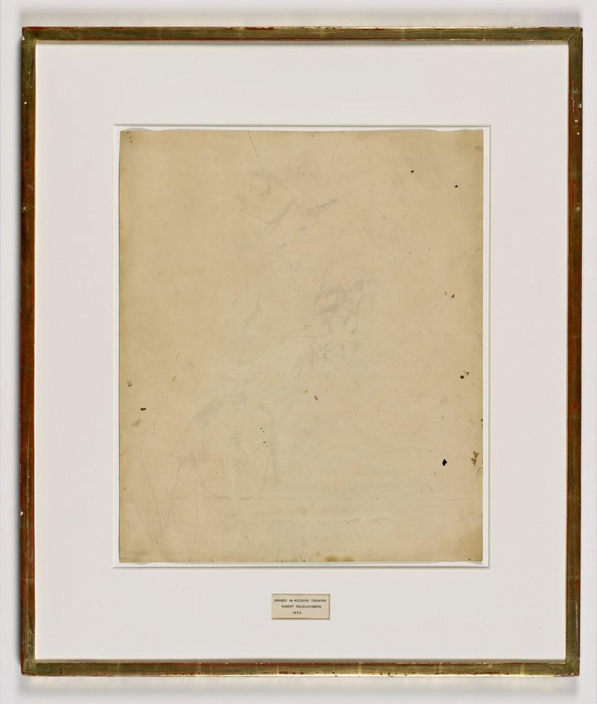 Pinturas polémicas Rauschenberg