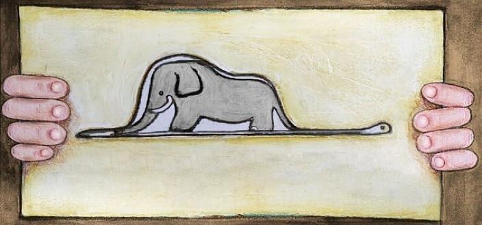 Serpiente y elefante / enseñanzas